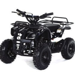 Квадроцикл детский бензиновый MOTAX ATV Х-16 Мини-Гризли 4-9 лет (механический стартер, задний привод, до 45 км/ч)